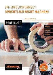 PROFIblatt - Hier PROFItieren die PROFIS! 06-21