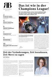 RB Zeitung 01 / 2021
