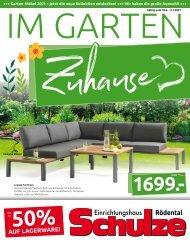 Einrichtungshaus Schulze | Im Garten Zuhause