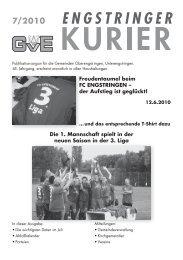 07/10 - Engstringer Kurier