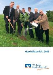 Geschäftsbericht 2009 - VR-Bank Rhein-Sieg eG