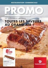 Promo Restauration Commerciale - Juillet-Août 2021