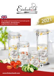 Einkochwelt catalog 2021