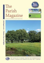 The Parish Magazine July and August 2021
