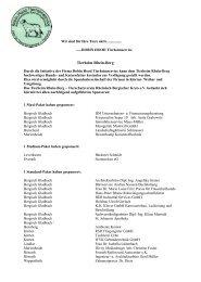 unsere Robin Hood- Sponsorenliste - Tierheim-Rhein-Berg