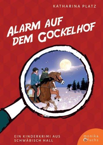 Katharina Platz & Claudia Gabriele Meinicke | Alarm auf dem Gockelhof