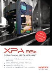 XPA_93x SISTEMI STAMPA & APPLICA INTELLIGENTI - Print & Apply