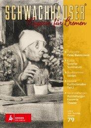Schwachhauser I Magazin für Bremen I Ausgabe 78