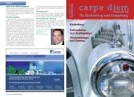 An- und Verkauf - carpe diem magazine