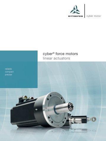 Wittenstein Cyber Force Motors