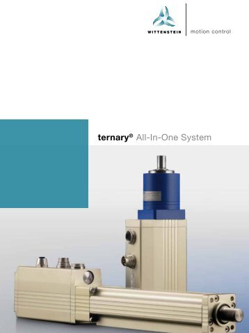 Wittenstein Ternary All-In-One-System