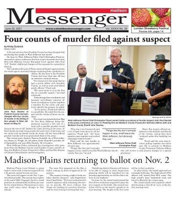 Madison Messenger - June 20th, 2021