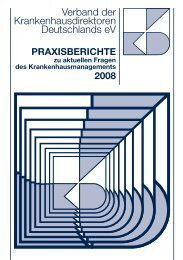 VKD-Praxisberichte 2008