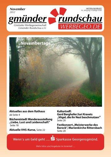 TSV Wendelstein II So.18.11. 14:30 Uhr TSV Rittersbach - Gmünder ...