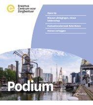 Erasmus Centrum voor Zorgbestuur - Podium juni 2021