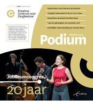 Erasmus Centrum voor Zorgbestuur - Jubileumeditie Podium oktober 2014