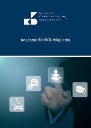 Angebote für VKD-Mitglieder