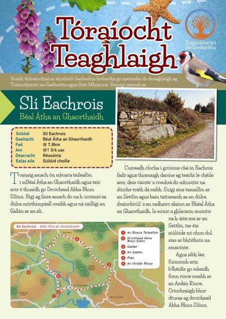 Toěraiěocht Teaghlaigh - Sliě Eachrois