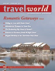 TravelWorld International Magazine, Jan/Feb 2014 Issue