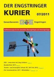 4. September 2011 - Engstringer Kurier