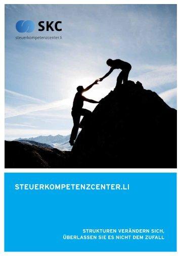 STEUERKOMPETENZCENTER.LI - SKC Steuerkompetenzcenter AG