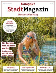 Kompakt - Stadtmagazin - Juli 2021