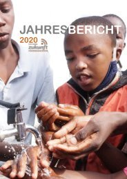 Jahresbericht 2020 – Stiftung Zukunft für Kinder in Slums