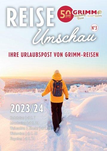GRIMM REISE Umschau N°5 2021/2022 - Sept. 2021
