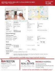 2021-0621 | 2906 Kings Chapel Road #15 | Falls Church, VA 22042