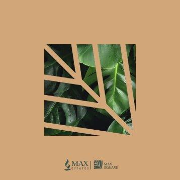 Max Square Brochure Jute Cover