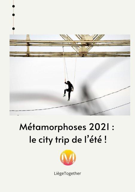 Dossier de presse - Métamorphoses 2021