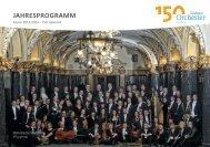 JAHRESPROGRAMM - Sinfonieorchester Wuppertal