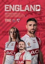 England Rugby League International Triple Header