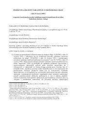 Dyrektywa Parlamentu Europejskiego i Rady w sprawie koordynacji ...
