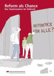 Reform als Chance - HRK nexus
