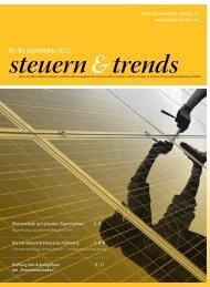 Steuern & Trends September 2011 - Gruber & Partner ...