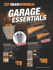 GEARWRENCH Garage Essentials
