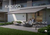 KADECO Freistehende Markisen