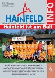 Hainfeld Info 03/2009 - Wir Hainfelder