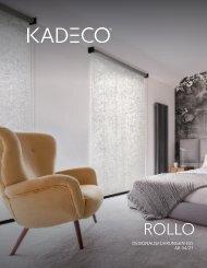 KADECO Rollo Designausfuehrung