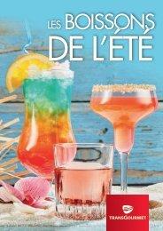 Les boissons de l'été