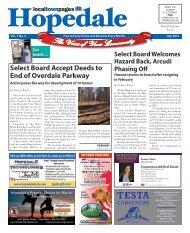 Hopedale July 2021