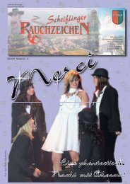 Scheiflinger Rauchzeichen, Ausgabe 31 (0 bytes) - Marktgemeinde ...