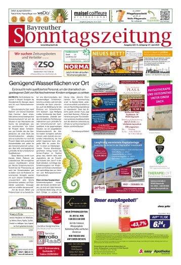 2021-06-27 Bayreuther Sonntagszeitung