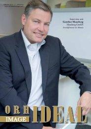 Interview mit Gunther Maasberg Maasberg GmbH - Orhideal IMAGE