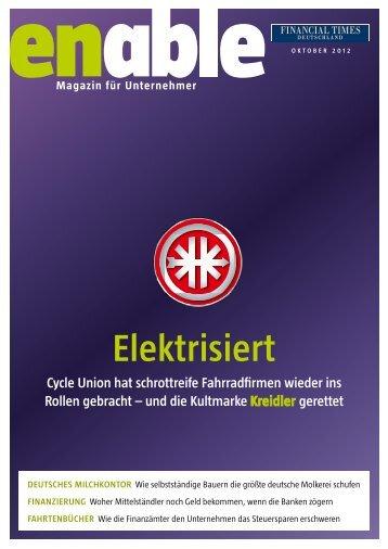 enable - Elektrisiert - Financial Times Deutschland