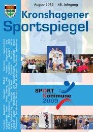 August 2012 48. Jahrgang - TSV Kronshagen