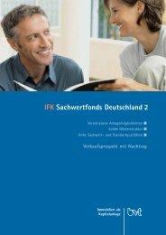 IFK Sachwertfonds Deutschland 2 - Beteiligungsfinder.de