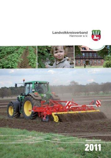 Jahresbericht 2011 - Landvolkkreisverband Hannover eV
