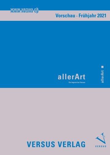 Versus Verlag: Vorschau und Highlights 2018 – 2021